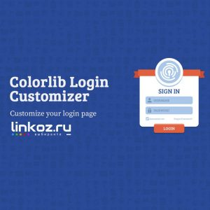 Customizer Colorlib на Русском языке