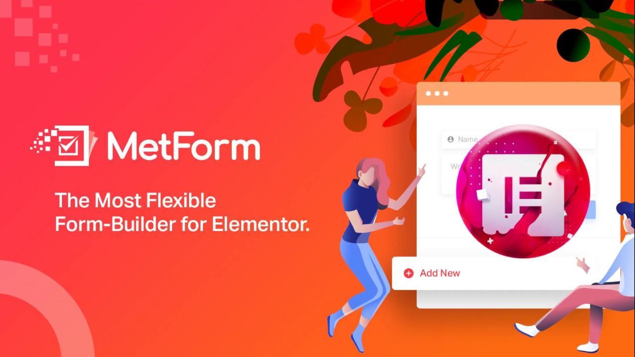 MetForm - конструктор форм для Elementor на русском