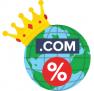 Скидка 5% на новые домены .COM